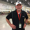 Carol Harper — The Morning Journal <br> An employee at Riddell for 23 years, Production Manager Mark Daley said he enjoys the job and working with people on the manufacturing floor who create football helmets and pads. The company outgrew a facility in Elyria and moved beginning in April to a new facility at 7501 Performance Lane in North Ridgeville.