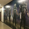 Carol Harper — The Morning Journal <br> Football themed graphics line hallways and office areas in a new Riddell manufacturing facility in North Ridgeville.