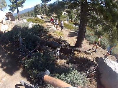 girls on trail for Steve 9-5-2014