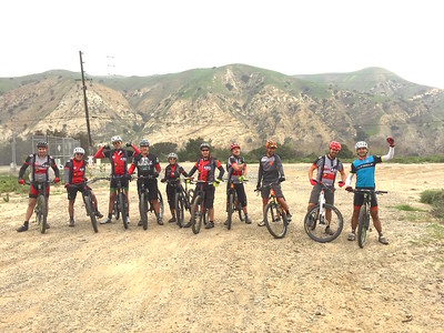 2017 02-05 Bernies Coal Cyn & patio initiation ride