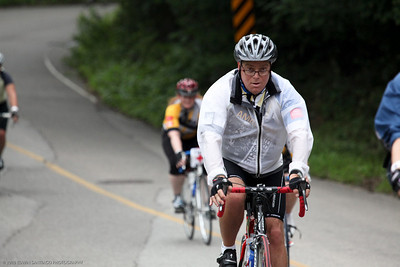Brian. Photo provided courtesy of The Ride to Conquer Cancer photographers.