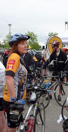 Natalie a team member.