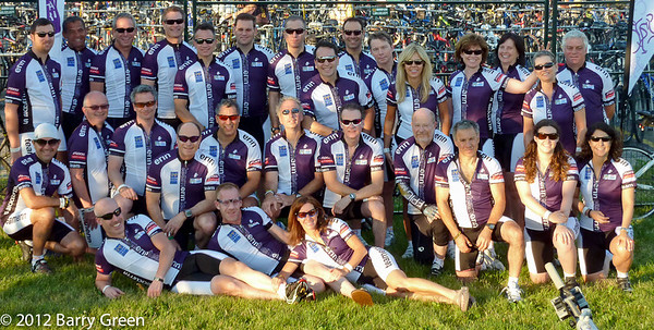 The Ride to Conquer Cancer 2012