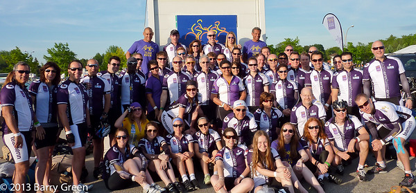 The Ride to Conquer Cancer 2013