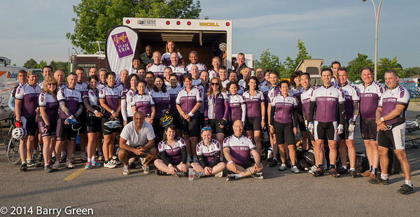 The Ride to Conquer Cancer 2014