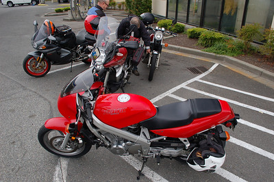 Ride to Mt Baker 6-4-14