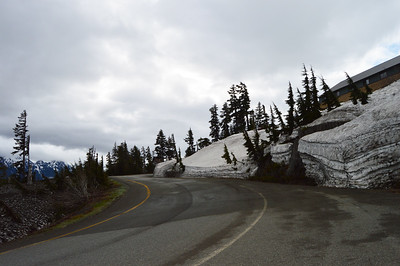 Ride to Mt Baker