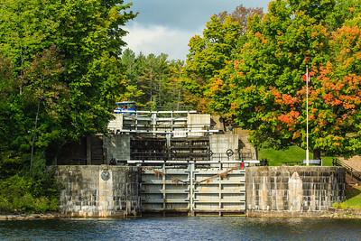 Flight Locks at Jones Falls, Rideau Canal