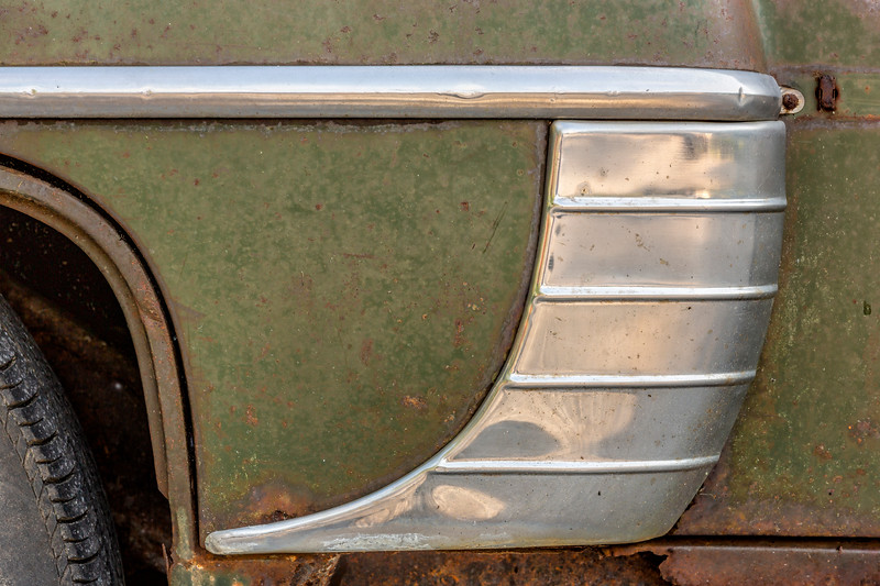 Rear Fender Trim 1954 Mercury
