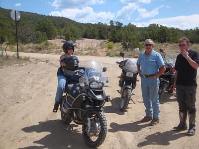 Claire on WildTurkey bike, Johnny of Stork, Fritz - FR437 & NM518