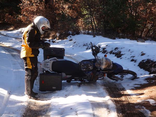 2008-11-15 Dual Sport Glorieta Mesa & Glorieta Lookout