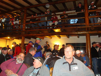 25th Annual Bavarian Mountain Weekend (BMW) Rally @ Sipapu - 2009-09-12...Saturday evening inside the lodge with coffee and beer flowing and tales of the trails being shared.