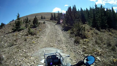 2010-09-26 Elk Mtn BMW Shop Ride 05 R1200GS Adv Hill Climb