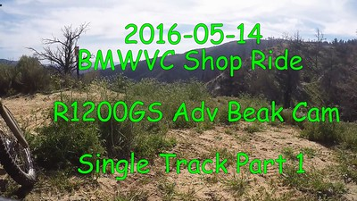 2016-05-14 BMWVC Shop Ride 09 Single Track Part 1