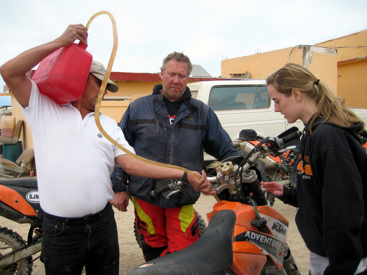 gas at gonzaga bay