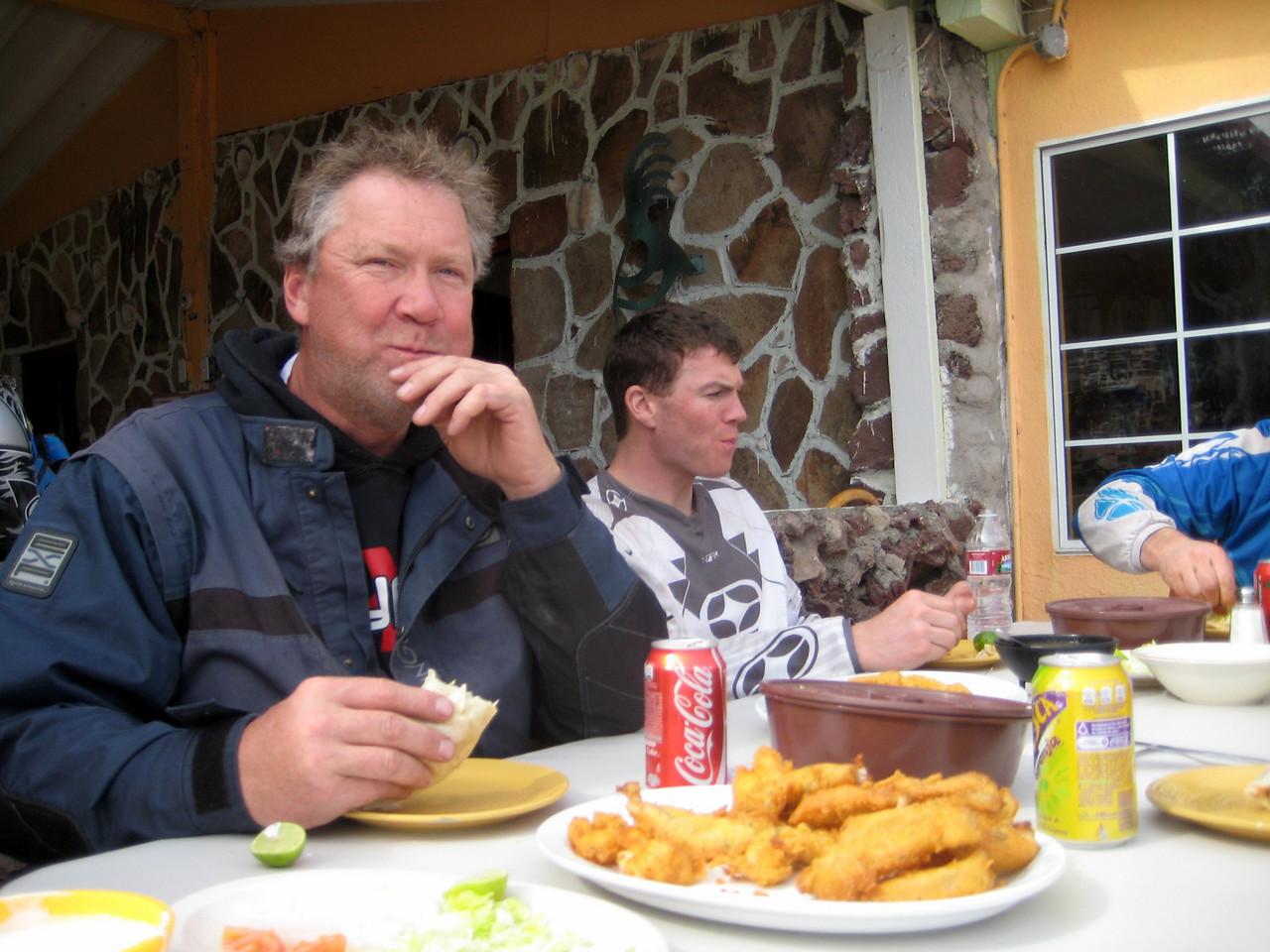 fish tacos at gonazaga bay