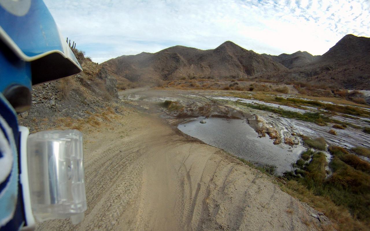 lots of water crossings
