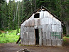 old camp on lake louise