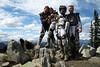 dave, sarah, sara, and me at klone peak