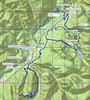 Revised loop for Packwood. Total mileage according to delorme is 53 miles, but I suspect actual mileage is 60 or better. Includes 6.5 miles dry creek trail, aprox 2.4 miles old mill to packwood lake trail, 8.62 miles for packwood lake loop, 3.15 miles from packwood lake loop to three peaks trail, aprox 8 miles for three peaks trail/loop, aprox 8-9 miles of trail on skate-creek mountain, and about 10 miles of gravel road to connect trails.