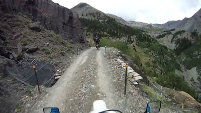 RMAR 2012-08-02 Imogene Pass up from Telluride to Ouray - Part 3