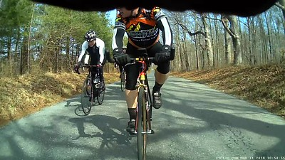 Tim's winter SGR ride March 11, 2018