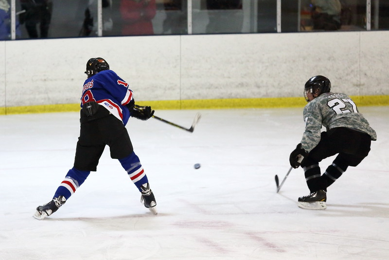 The Peachtree Ridge Lions played Walton HS in a Georgia High School hockey game