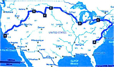 2008 Ride Map