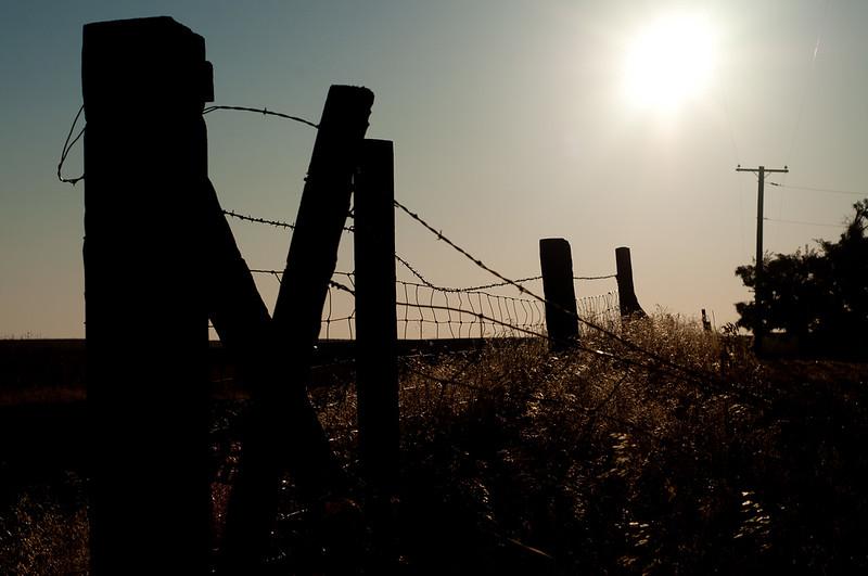 oregon, fence, farm
