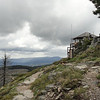 The Sugerloaf fire lookout.