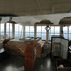 The accommodations inside the lookout. Fairly simple but with a 360 view.