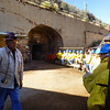 Joe, our tour guide at Queen Mine Tour, Bisbee, AZ