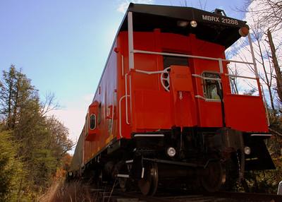 Milford Bennington Railroad - Wilton, NH Caboose