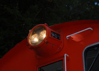 Milford Bennington Railroad - Wilton, NH - Light