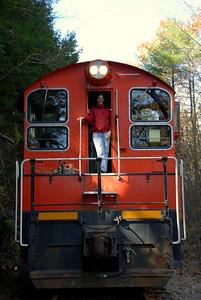 Milford Bennington Railroad - Wilton, NH Conductor's Helper