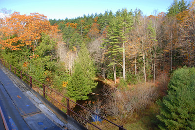 Fall foliage on the rails - Wilton, NH - 1