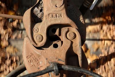 Milford Bennington Railroad - Wilton, NH Car Hitch
