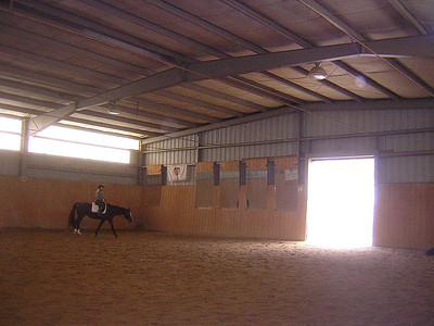 indoor at PineGate Farm