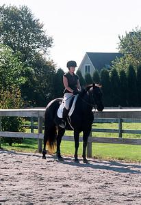 Susan and Moon at Katydid Farm - Oct 08
