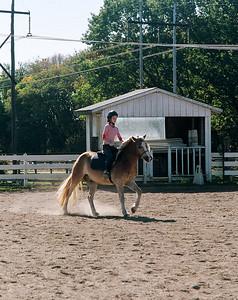 Casey riding Oct 08