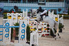 Devon Horse Show.  Juniors jumping.