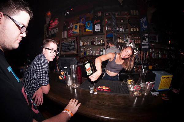 bartender @ lucky