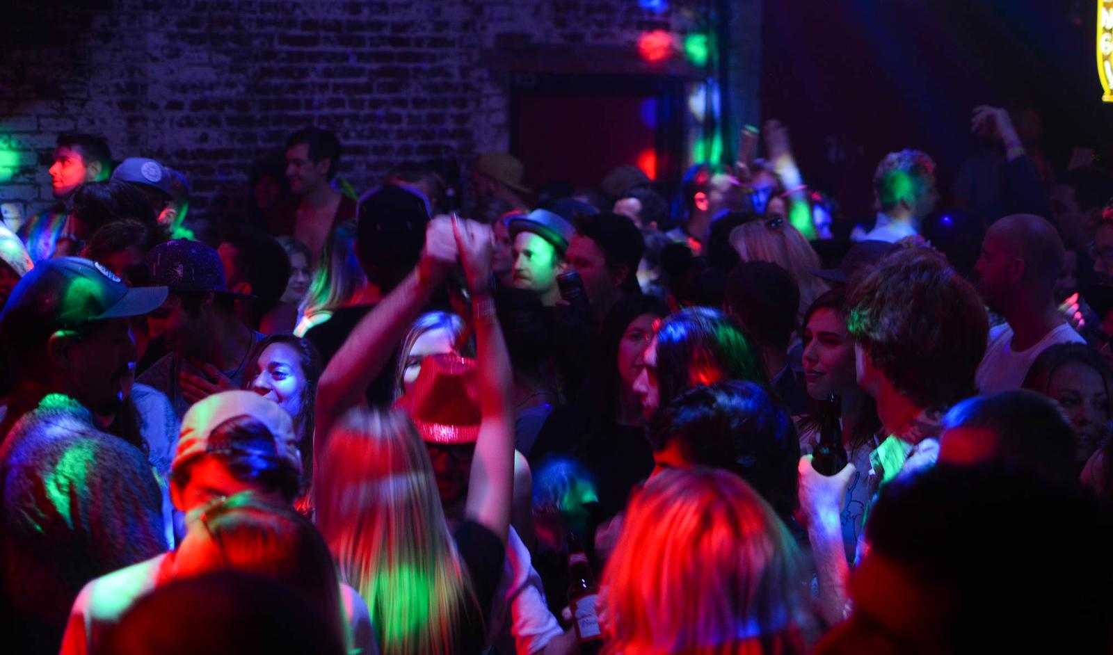 Lucky Bar Crowd
