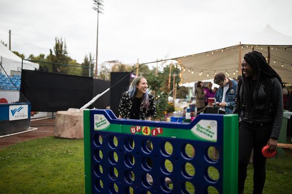 Backstage Minglers, Rifflandia Gathering,  ©Jake Sherman, 2018