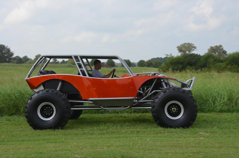 Copperhead Wide Open Design S 4 Seat Revolution Chassis