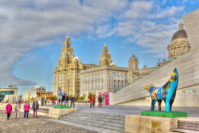 The Pier Head, Liverpool, England 2012.
