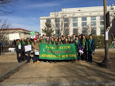 Right to  Life Youth Rally & March Wash. DC 1/19/2018
