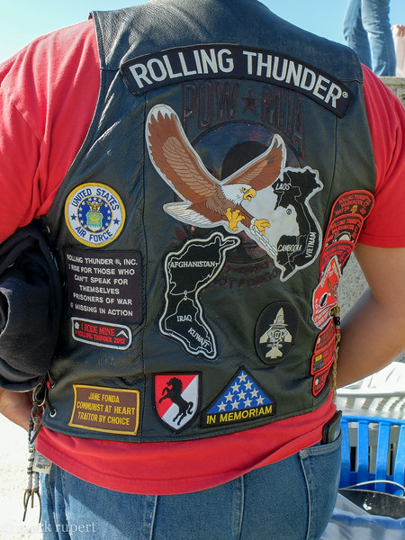 the patches tell the story