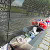 POW-MIA hat at the Wall