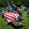 mock funeral for VN vet
